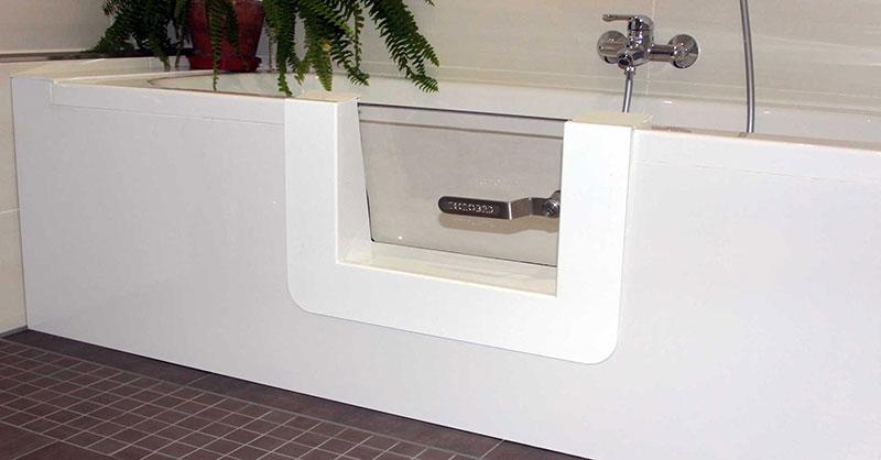 Badewannent ren f r nachtr glichen umbau wanne zu dusche for Sitzbadewannen hersteller