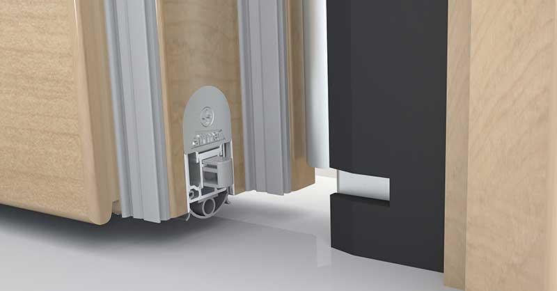 Favorit barrierefrei Bauen - Automatische Türdichtungen BB92