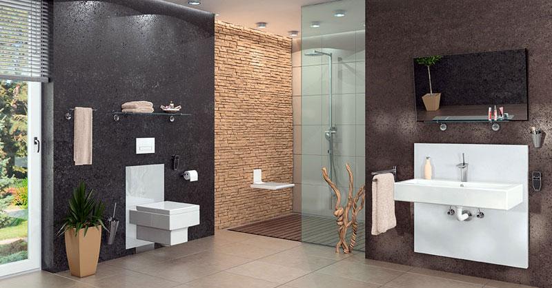 barrierefrei Wohnen - Kleines oder großes Badezimmer