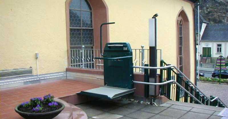 Baumaschinen & -fahrzeuge Sporting 1 Etage Hauslift 300cm Senioren Lift Fahrstuhl Senkrechtlift Behindertenlift