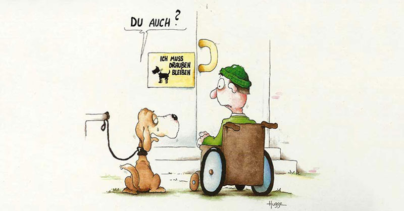 Cartoon von Phil Hubbe