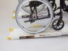 Teleskopschienen 107, mit Rollstuhl
