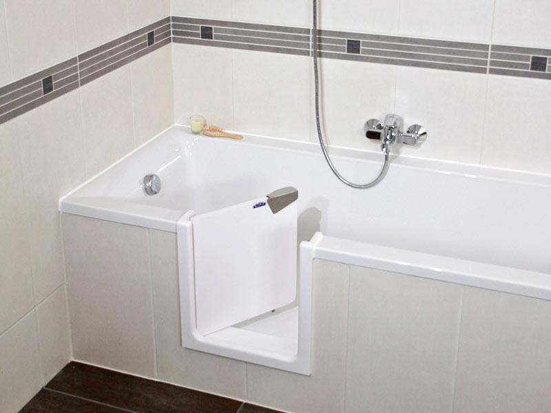 badewannent ren f r umbau wanne zu dusche nullbarriere. Black Bedroom Furniture Sets. Home Design Ideas