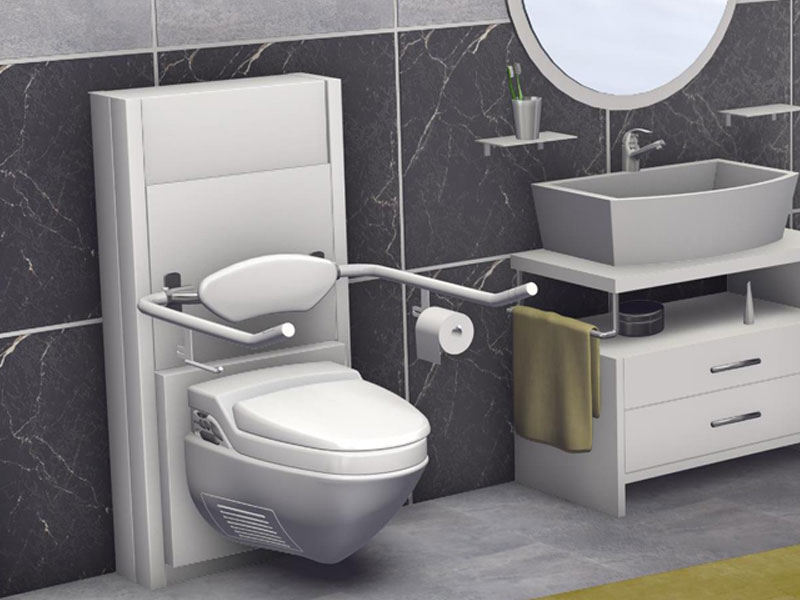 barrierefrei h henverstellbares wc wc lift. Black Bedroom Furniture Sets. Home Design Ideas