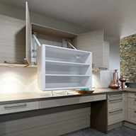 barrierefrei wohnen liftsysteme für küchen
