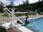 Freibad Poollift