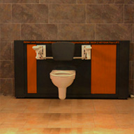 barrierefrei wc verstellbar horizontal vertikal. Black Bedroom Furniture Sets. Home Design Ideas