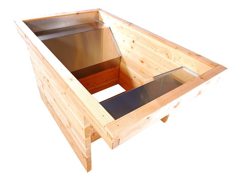 barrierefrei wohnen unterfahrbares hochbeet f r den. Black Bedroom Furniture Sets. Home Design Ideas