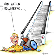 Kalenderblatt Oktober 2008 cartoon
