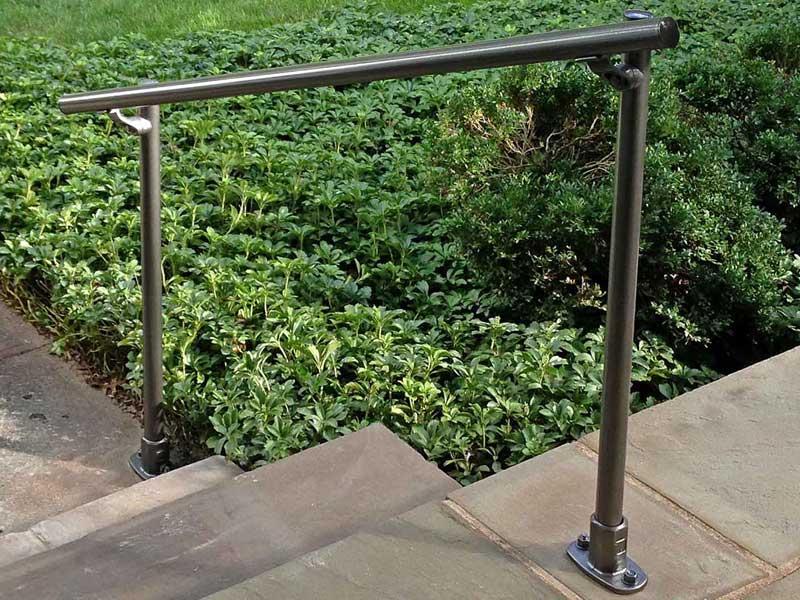 handlauf und gel nder f r treppe rampe und balkon nullbarriere. Black Bedroom Furniture Sets. Home Design Ideas