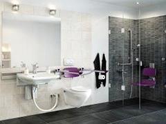 barrierefreies Bauen und Wohnen - Ein Bad wird barrierefrei