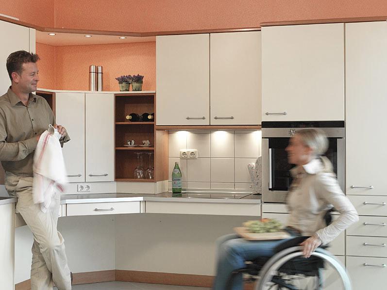 barrierefrei Wohnen - Komfortable Wohnküchen boomen!