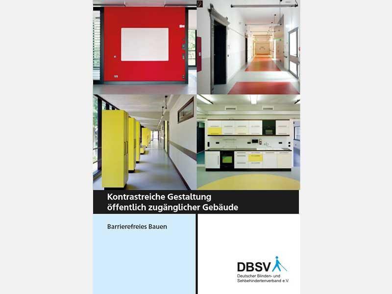Kontrastreiche Gestaltung öffentlich zugänglicher Gebäude - nullbarriere